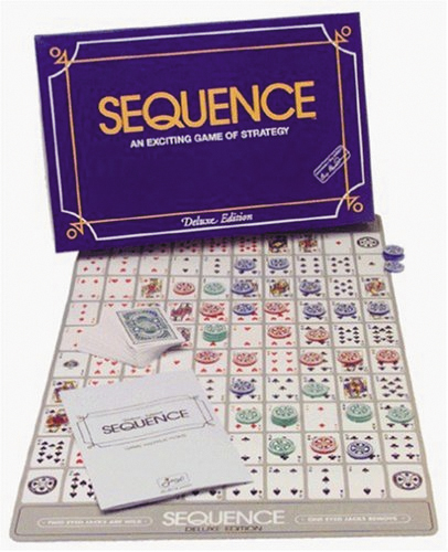 Sequence: Deluxe Game Box Front
