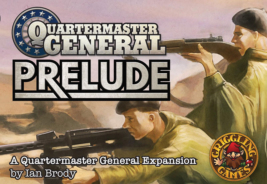 Quartermaster General: Prelude Box Front