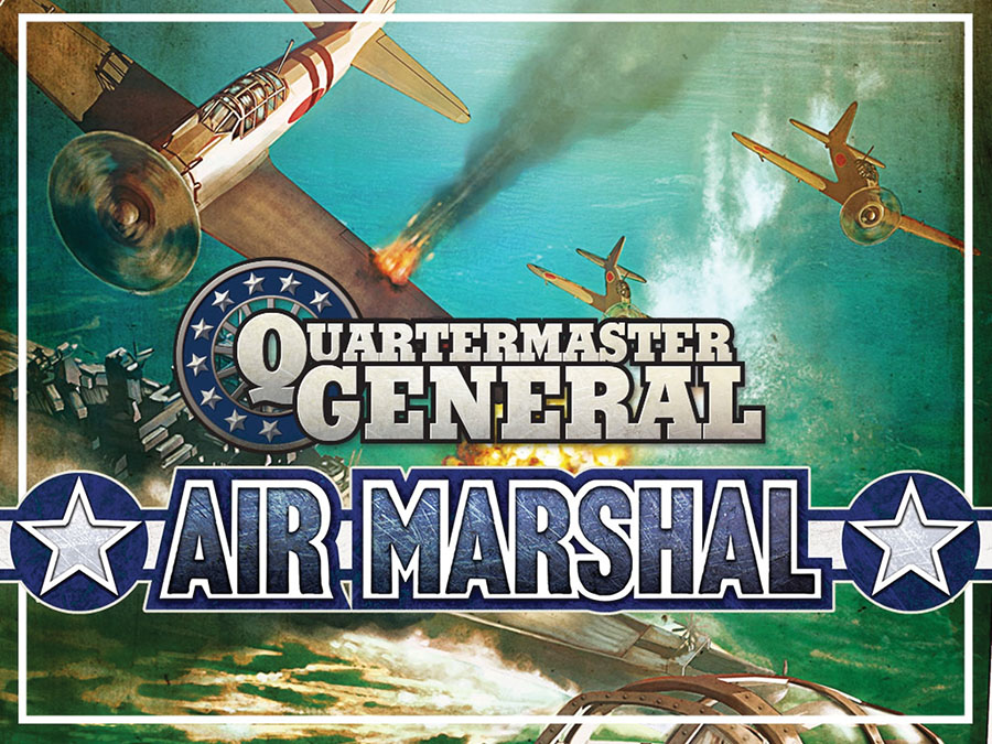 Quartermaster General: Air Marshal Expansion Box Front