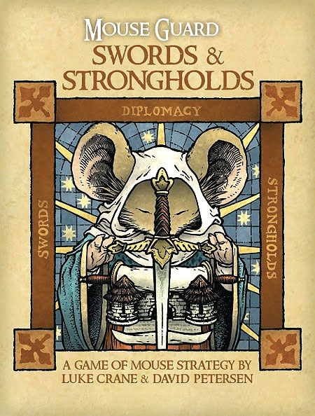 Mouse Guard: Swords & Strongholds Box Front