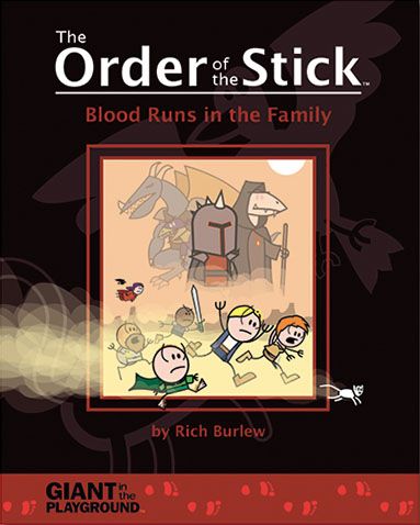 Order Of The Stick Volume 5: Blood Runs In The Family Box Front