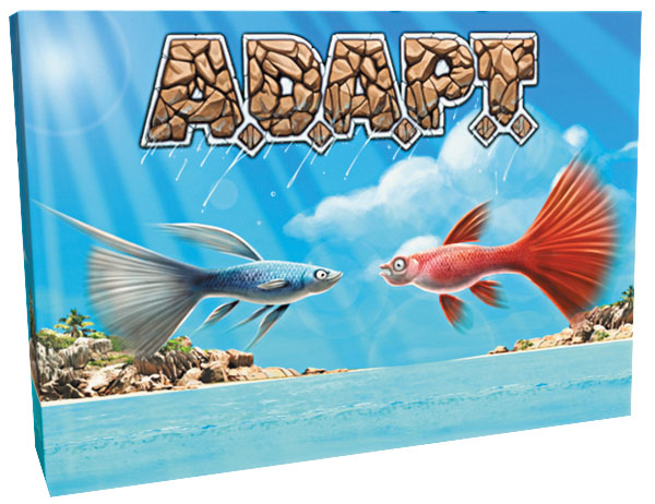 A.d.a.p.t. Strategy Dice Game Box Front