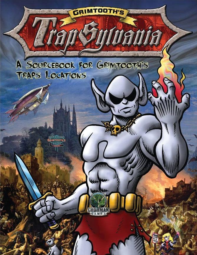 Dungeon Crawl Classics: Grimtooth`s Trapsylvania Game Box