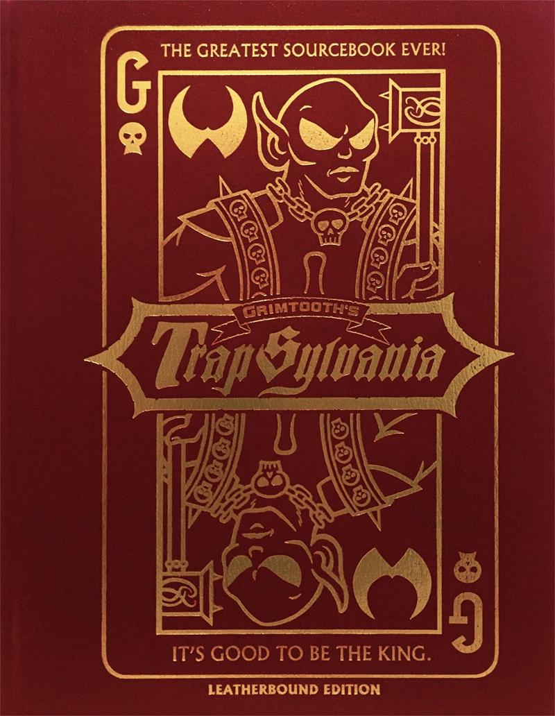 Dungeon Crawl Classics: Grimtooth`s Trapsylvania - Leatherbound Edition Game Box