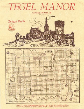 Judges Guild: Tegel Manor Box Front