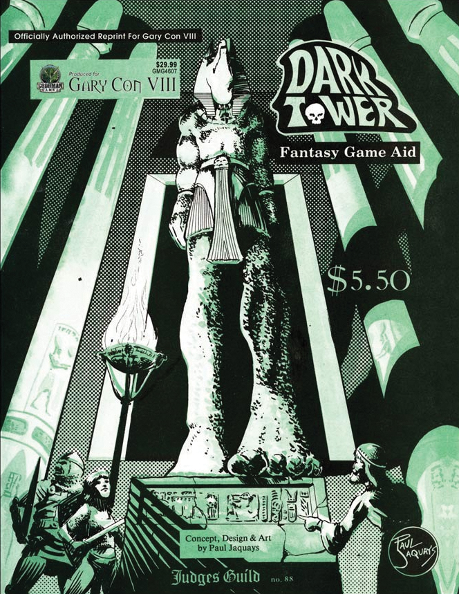 Judges Guild: Dark Tower 1e Reprint Box Front