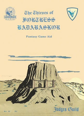 Judges Guild: Thieves Of Fortress Badabaskor Box Front