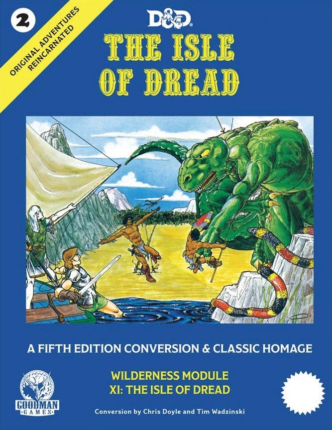 Original Adventures Reincarnated: #2 - The Isle Of Dread Game Box