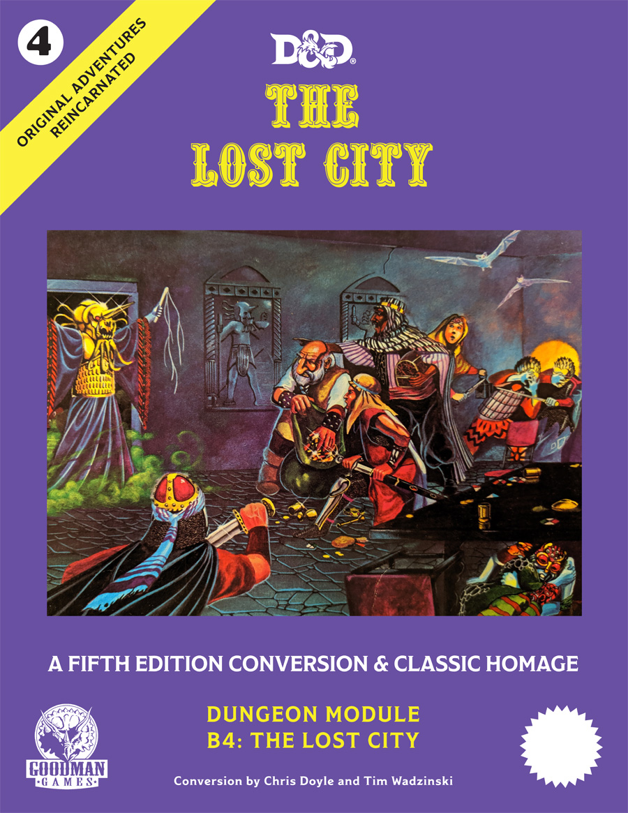 Original Adventures Reincarnated #4 - The Lost City
