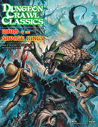 Dungeon Crawl Classics: #66.5 Doom Of The Savage Kings Box Front