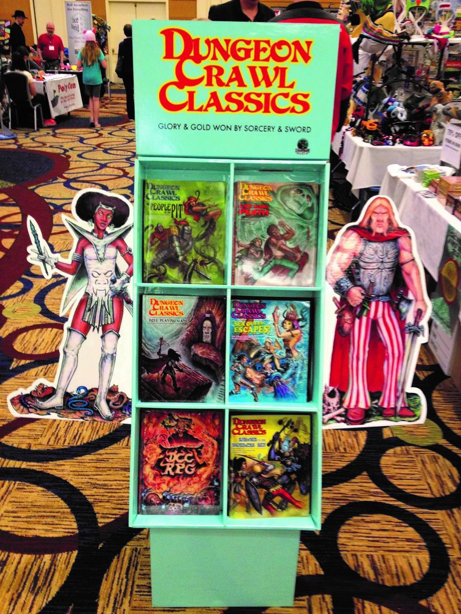Dungeon Crawl Classics Pop Display (empty) Box Front