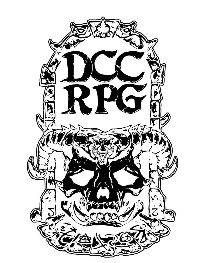 Dungeon Crawl Classics Rpg: Demon Skull Issues Limited Edition Hardback Game Box