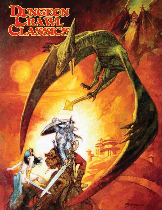 Dungeon Crawl Classics Rpg: Sanjulan Limited Edition Hardback Game Box