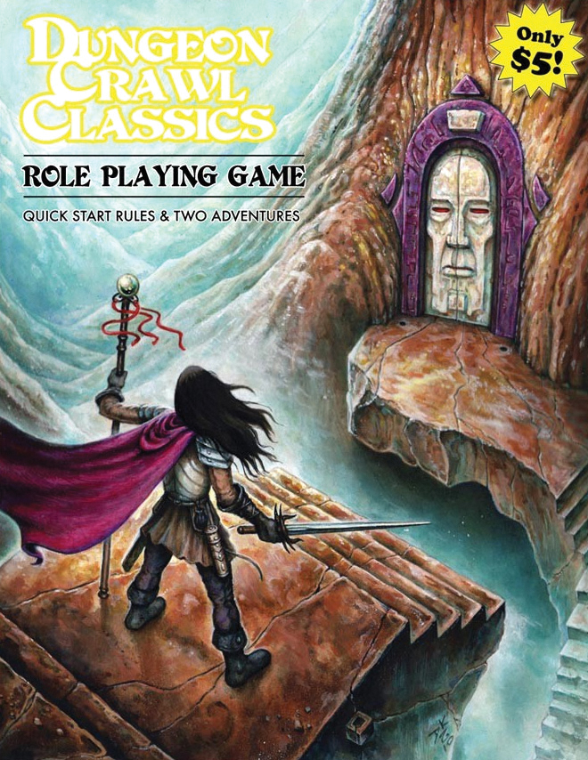 Dungeon Crawl Classics: Quick Start Rules Box Front