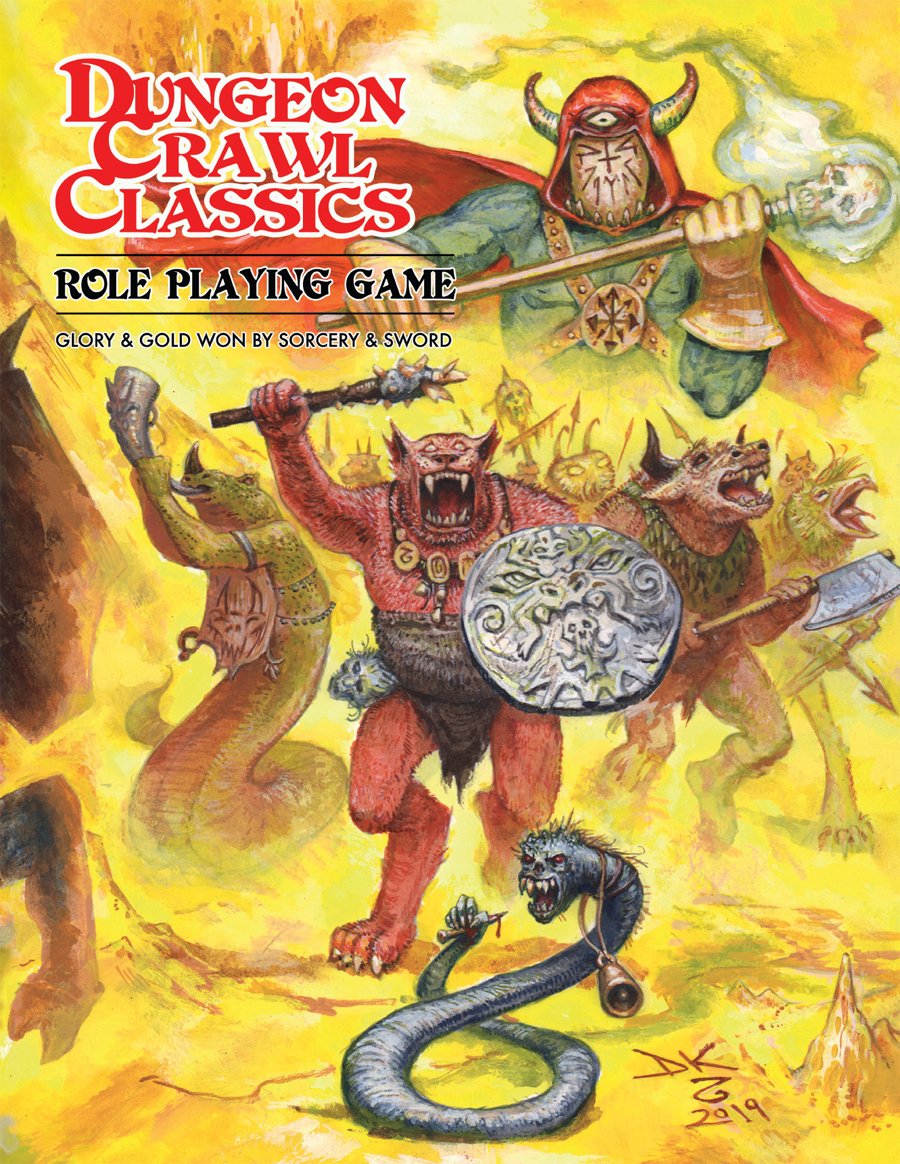 Dungeon Crawl Classics: Core Rules - Softcover Beastman Edition