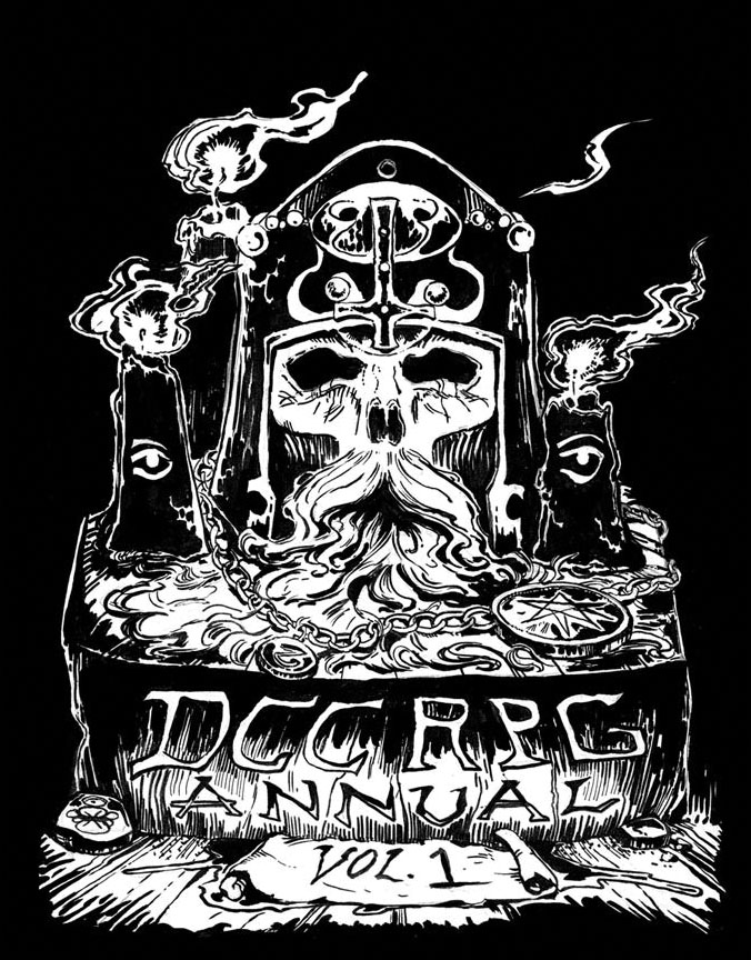 Dungeon Crawl Classics: Annual Foil Edition (dcc Compilation) Game Box
