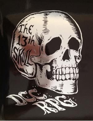 Dungeon Crawl Classics: #71 The 13th Skull (limited Silver Foil Edition) Box Front