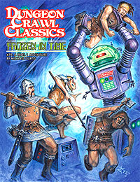 Dungeon Crawl Classics: #79 Frozen In Time Box Front