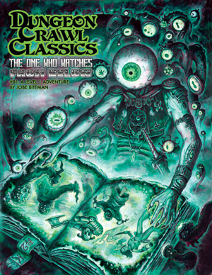 Dungeon Crawl Classics: #81 The One Who Watches From Below Box Front