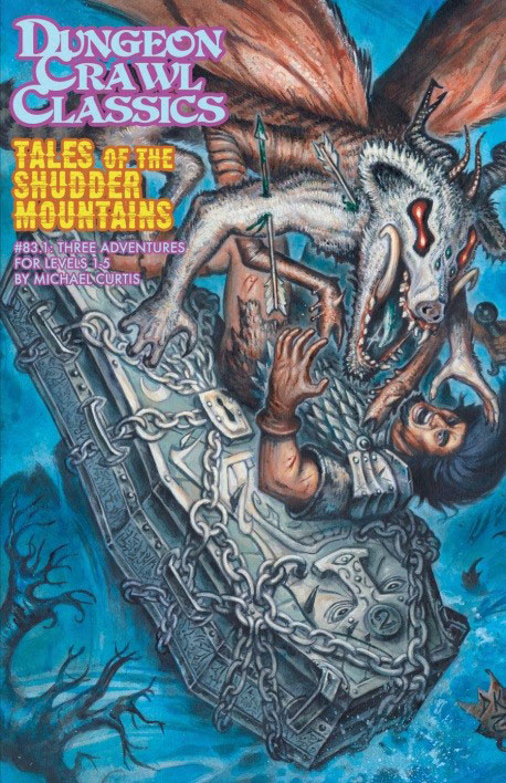Dungeon Crawl Classics: #83.1 Tales Of The Shudder Mountains Box Front