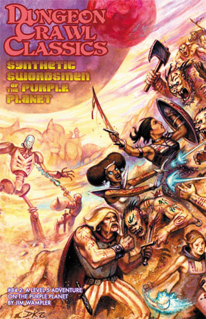Dungeon Crawl Classics: #84.2 Synthetic Swordsmen Of The Purple Planet Box Front