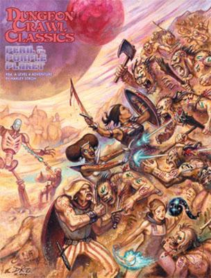 Dungeon Crawl Classics: #84 Peril On The Purple Planet Box Set Box Front