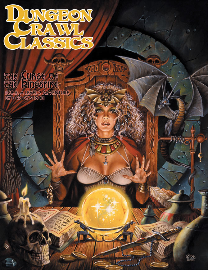 Dungeon Crawl Classics: #88.5 Curse Of The Kingspire Box Front