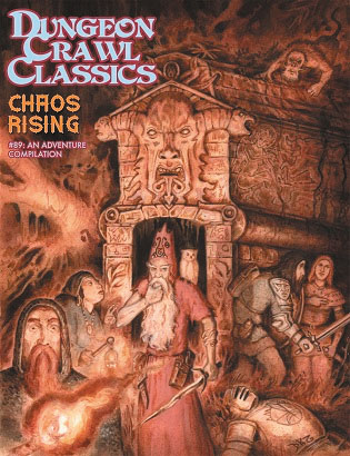 Dungeon Crawl Classics: #89 Chaos Rising (sketch Cover) Box Front