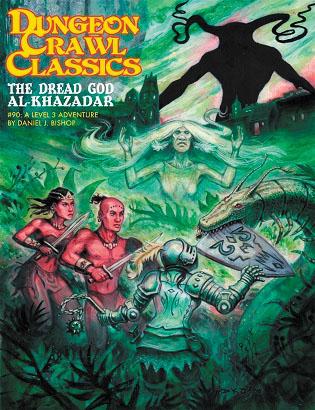 Dungeon Crawl Classics: #90 The Dread God Of Al-khazadar (sketch Cover Variant) Box Front
