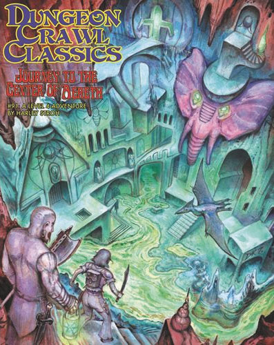 Dungeon Crawl Classics: #91 Journey To The Center Of Aereth Box Front