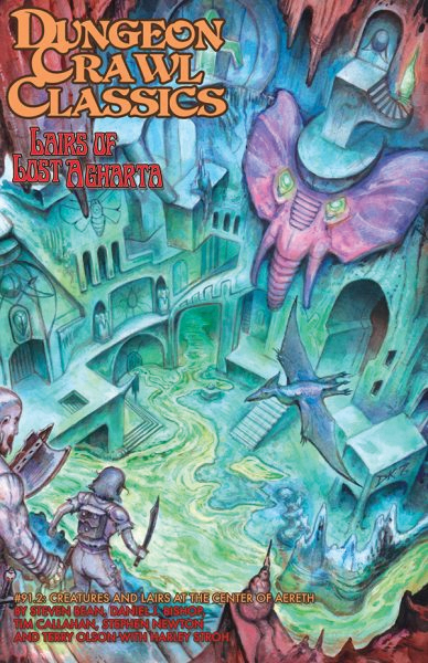 Dungeon Crawl Classics: #91.2 Lairs Of Lost Asharta Box Front
