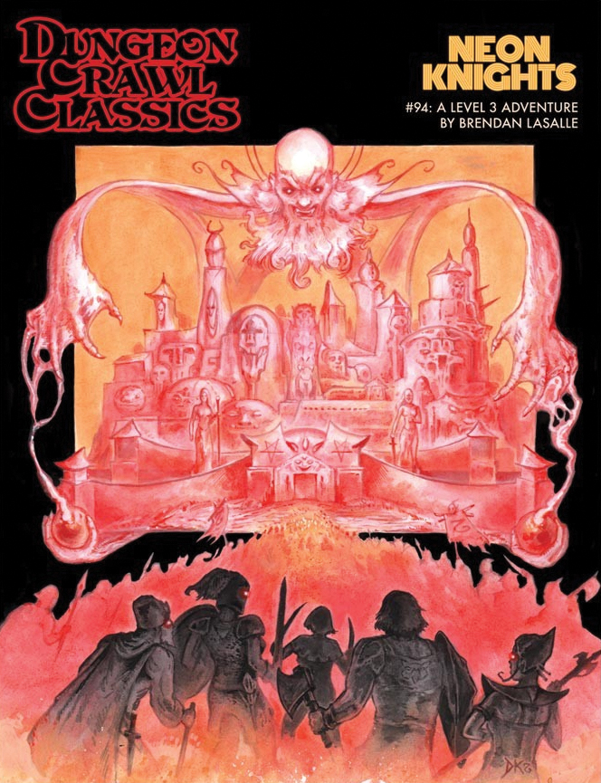 Dungeon Crawl Classics: #94 Neon Knights Box Front