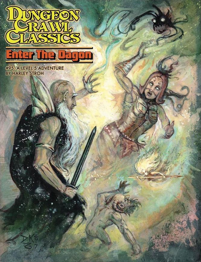 Dungeon Crawl Classics: #95 Enter The Dragon Game Box
