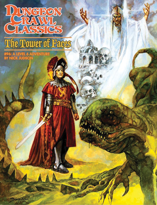 Dungeon Crawl Classics: #96 The Tower Of Faces Box Front