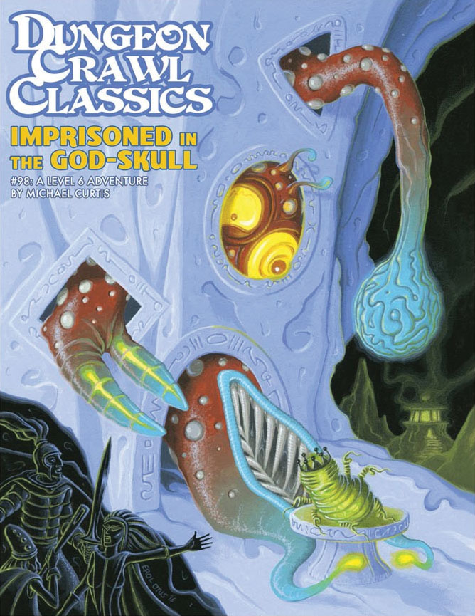 Dungeon Crawl Classics #98: Imprisoned In The God-skull Game Box