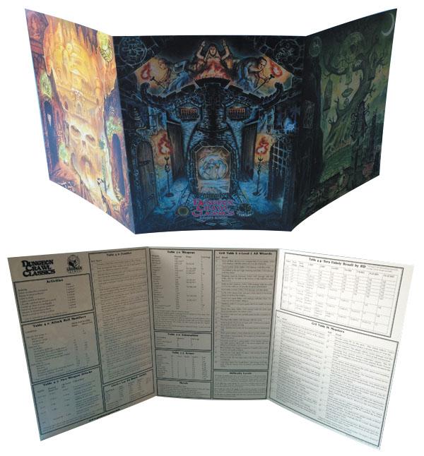 Dungeon Crawl Classics Rpg Judges Screen Box Front