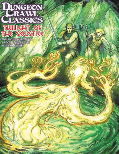 Dungeon Crawl Classics: Holiday Module-twilight Of The Solstice Box Front