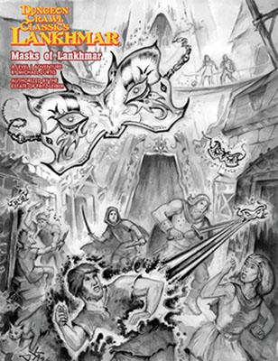 Dungeon Crawl Classics: Lankhmar - Masks Of Lankhmar Box Front