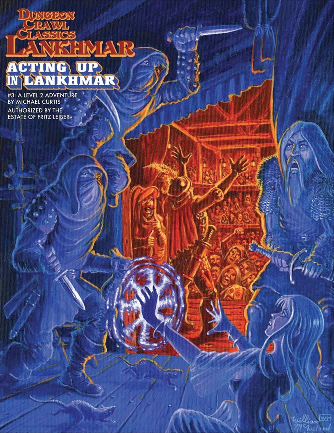 Dungeon Crawl Classics: Lankhmar #3 - Acting Up In Lankhmar Game Box