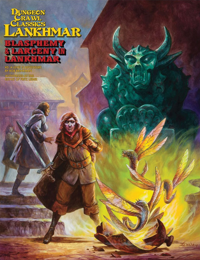 Dungeon Crawl Classics: Lankhmar #5 - Blasphemy & Larceny In Lankhmar Game Box