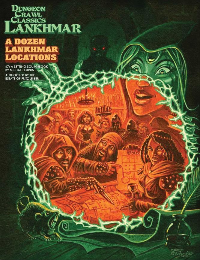 Dungeon Crawl Classics: Lankhmar #7 - A Dozen Lankhmar Locations Game Box