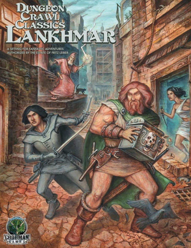 Dungeon Crawl Classics: Lankhmar Boxed Set Game Box