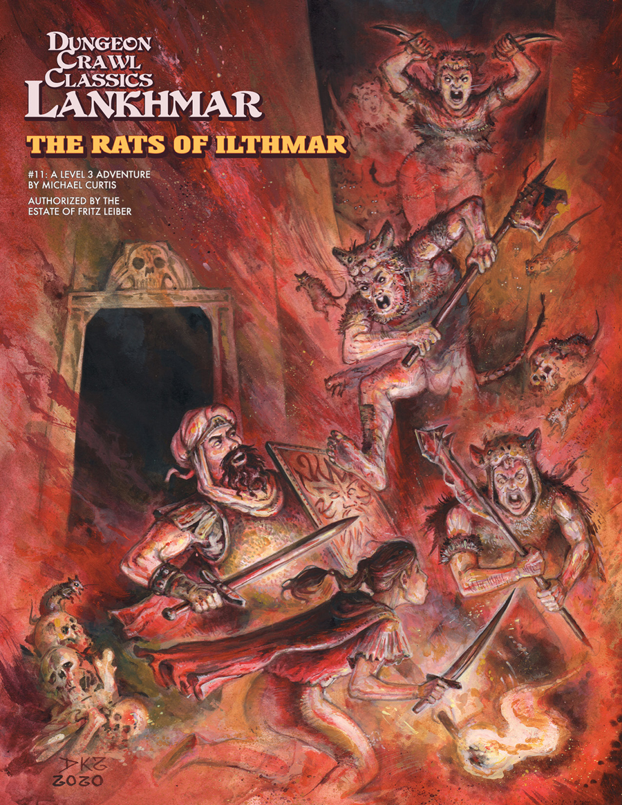 Dungeon Crawl Classics: Lankhmar #11 - The Rats Of Ilthmar
