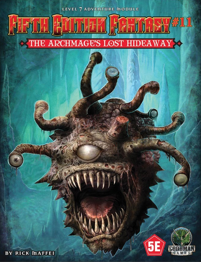 5th Edition Fantasy: #11 The Archmage`s Lost Hideaway Box Front