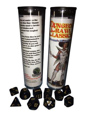 Dungeon Crawl Classics: Shanna`s Weird Dice Box Front