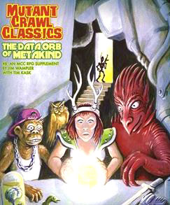 Mutant Crawl Classics Rpg: #8 The Data Orb Of Mankind Box Front