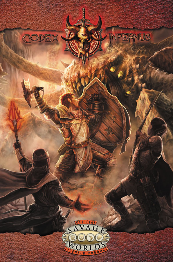 Savage Worlds Rpg: Codex Infernus: The Savage Guide To Hell (hardcover) Box Front