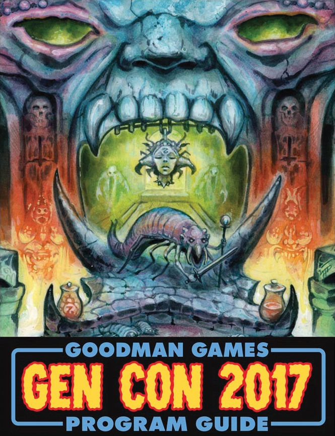 Gen Con 2017 Program Guide Box Front