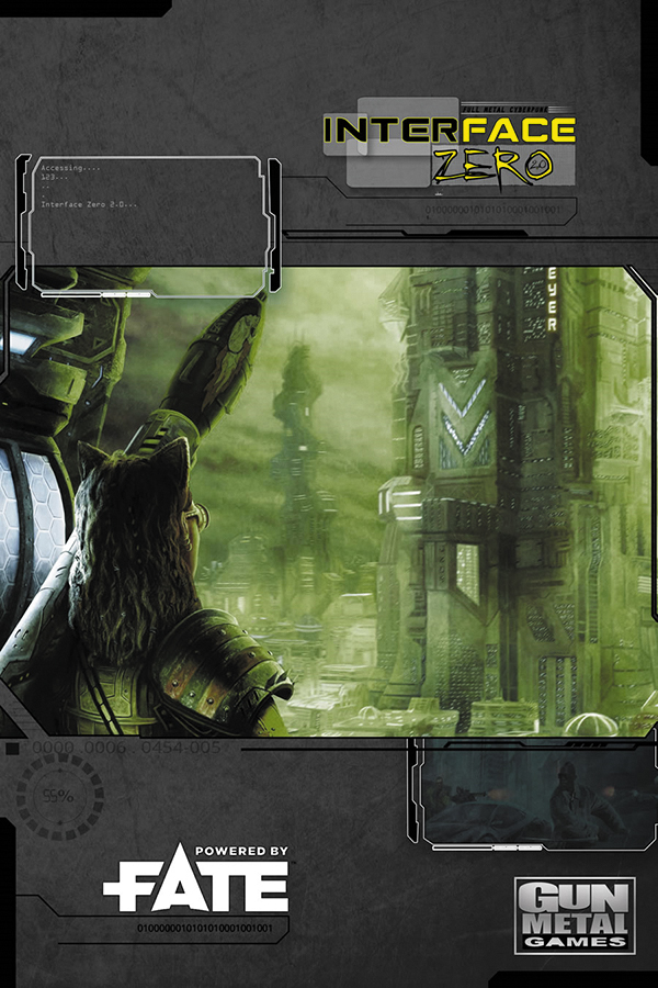 Savage Worlds Rpg: Interface Zero 2.0: Fate Edition Box Front