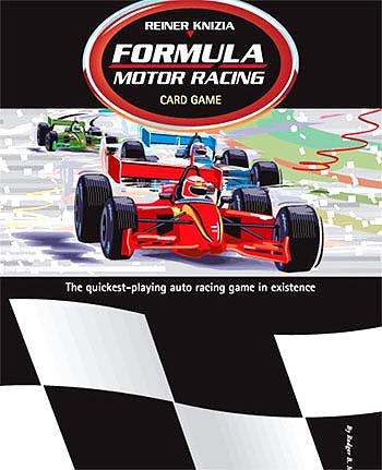 Formula Motor Racing Card Game Box Front